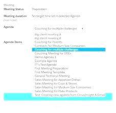 Sales Meeting Agenda Template