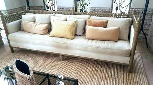 reupholster leather couch cost ling