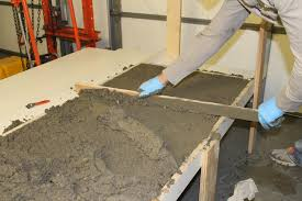 Thinset Concrete Countertops Diy Concrete Countertops In A Beautiful Master Bathroom Renovation