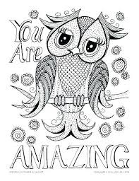 Coloring Pages Owl Coloring Pages Colored Owls To Color For Kids