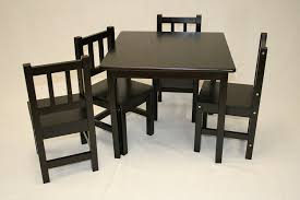 children table and chair set new home design with striking melissa and doug wooden table chairs