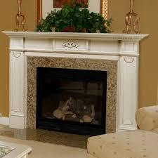 image of fireplace mantel kits