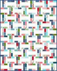 Best 25+ Moda jelly rolls ideas on Pinterest | Jelly rolls, Jelly ... & Lets Quilt Something: Interlock - Free Quilt Pattern - Jelly Roll Posted by  Krystal Jakelwicz-Very easy Jelly Roll quilt pattern that looks like you  spent a ... Adamdwight.com