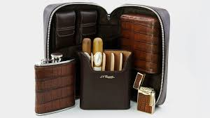 brizard partners with s t dupont elie bleu padrón and rocky patel for new accessories