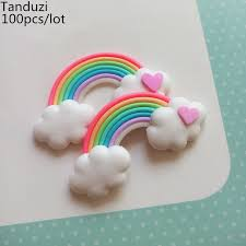 Cake Decorating Accessories Wholesale Tanduzi 100pcslot Wholesale Kawaii Deco Parts Polymer Clay 70