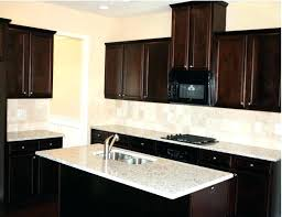 brown cabinets with light countertops dark cabinets light comely kitchen for dark cabinets or warm the