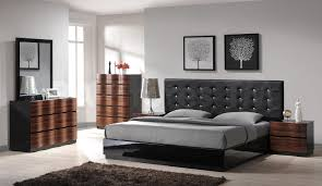 decorating with gray furniture. Abundant Modern Master Bedroom Gray Furniture Design With Grey Low Profile Bed Feat Brown Wood Dresser Also Rug Designs Decorating B