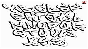 how to draw graffiti letters step by
