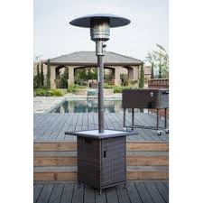 propane patio heater with table. Contemporary Table 40000 BTU Propane Patio Heater On With Table