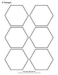 Free Hexagon Template, english pp | quillten | Pinterest ... & Printable hexagon templates for your creative craft or project. Can be used  for decorations, stencils, labels and printable stickers. Adamdwight.com