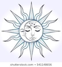<b>Bohemian Sun Moon</b> Images, Stock Photos & Vectors | Shutterstock