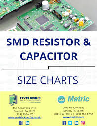 Resistor Size Chart Get Your Specs Right With Our Smd Resistor Capacitor Size