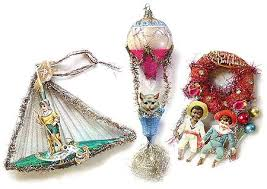 Antique Victorian Christmas ornaments like this one, even in this  condition, could be quite expensive.