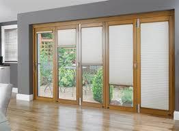 door curtain panel wood