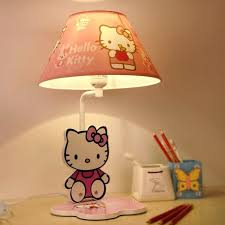 childrens pendant lighting. Creative Desk Lamp Table Pink Hello Kitty Style Led Light Protect Eyes Cute Design Girls Love Childrens Pendant Lighting R