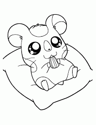Small Picture Hamtaro hamster coloring pages ColoringStar