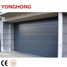 roller shutter flush entry garage door