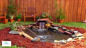 Backyard Pond And Waterfall Designs How To Add A Small Waterfall To Your Pond