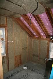 An Old Farm Roxul Vs Fiberglass Vs Foam Insulation - Insulating a bathroom