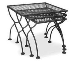 Accessories for Wrought Iron Patio Furniture Sets