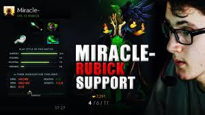 miracle dota 2 play rubick item item build 1 youtube
