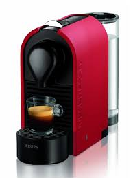 Nespresso U Machine Krups Xn250540 Nespresso U Pod Coffee Machine 19 Bar 08 Litre