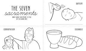 sacrament coloring pages. Exellent Sacrament Seven Sacraments Colouring Page Inside Sacrament Coloring Pages L