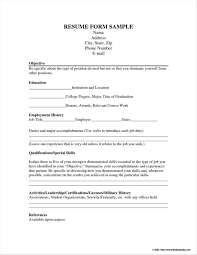 Resume Application Form Resume Application Form Free Download Complete Guide Example 14