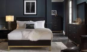 kentfield contemporary queen bedroom  the dump  america's