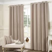 provence stone chenille luxury jacquard eyelet curtains pair