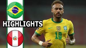 PES 2021 Gameplay | Brasile vs Perù | Copa America - 2021 - YouTube