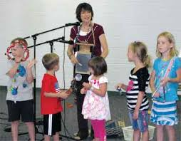 Overton Library Features Master Story-teller