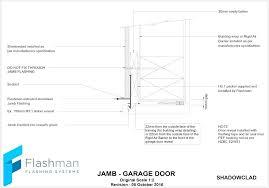garage door jamb detail garage door jamb detail cad trim roller shutter residential garage door jamb