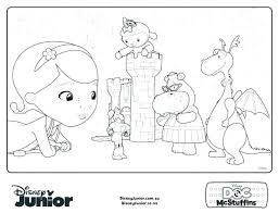 Doc Mcstuffins Coloring Sheets Free Doc Coloring Pages Coloring