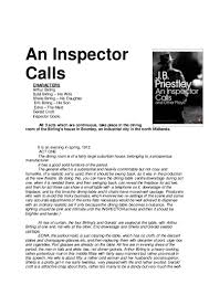 an inspector calls essay sheila financial manager cover letter iv recruiting coordinator resume example elementary essay questions an inspector calls act 1 to print pdf 160407133159