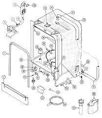 Magic chef magic chef dishwasher parts model du6500n sears partsdirect