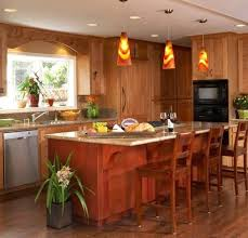 kitchen pendant lighting picture gallery. View In Gallery Colorful Pendant Lights Accentuate The Red And Yellow Hues Kitchen Hanging Plastic Ideas Inspiration Lighting Picture R