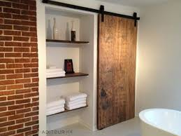salt lake city closet barn doors bathroom contemporary with door modern display and wall shelves sliding