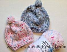 Free Knitting Patterns For Baby Hats Custom Baby Knitting Patterns Free Knitting Pattern Quick Knit Newborn