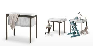stokke® home™ cradle sooth your newborn baby to sleep
