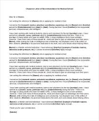 Sample Character Letter Of Recommendation 6 Examples In Pdf Word