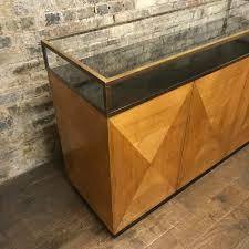 vintage art deco furniture. Vintage Art Deco Brass Jewellery Shop Counter - Picture 1 Furniture