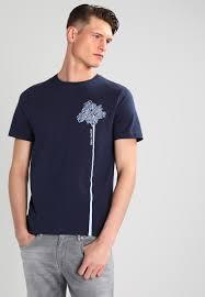 michael kors palmtree print t shirt midnight men