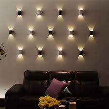 led square wall lamp hall porch walkway bedroom livingroom home fixture light in home garden lamps lighting ceiling fans wall fixtures