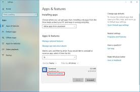 Advanced Options Windows 10 How To Manage Apps Settings On Windows 10 April 2018 Update
