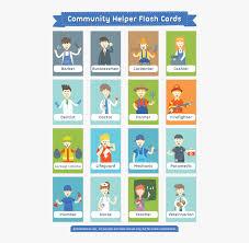 Helpers Chart Transparent Community Helper Clipart Printable Community