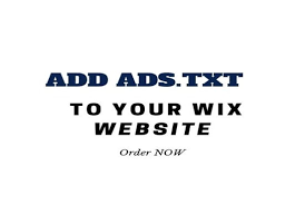fix ads txt adsense issue with your wix