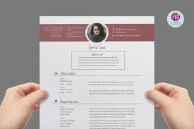 Resume Examples With Color Two CV Templates Resume Templates on TheHungryJPEG 60 2