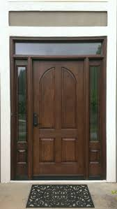 Chestnut Stain Color On A Mahogany Entrance Door Bought At Www - Exterior door stain