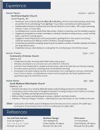 Pastor Resume Template Awesome Resume Objective For Masters Program